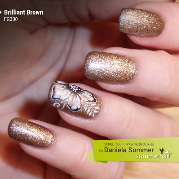 Farbgel Brilliant Brown