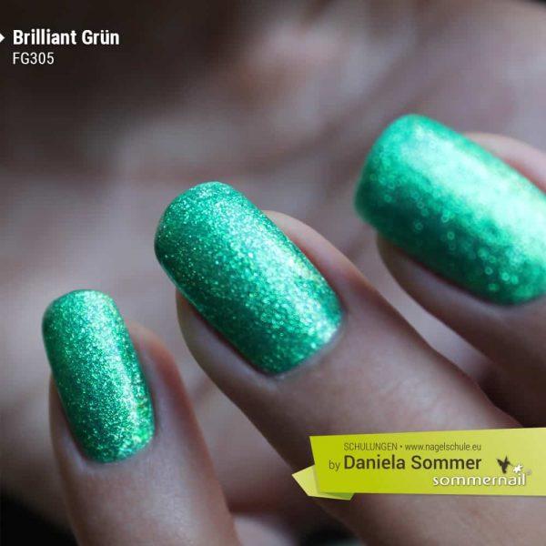 Farbgel Brilliant Grün