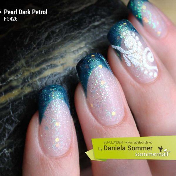 Farbgel Pearl Dark Petrol