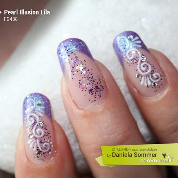 Farbgel Pearl Illusion Lila