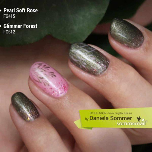 Farbgel Glimmer Forest, Pearl Soft Rose