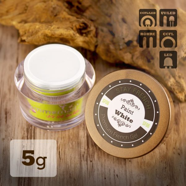 Frenchgel Paint White 5g