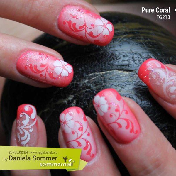 Farbgel Pure Coral
