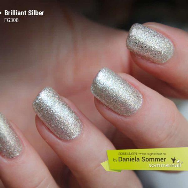 Farbgel Brilliant Silber