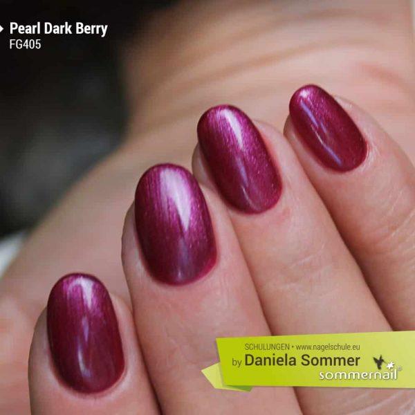 Farbgel Pearl Dark Berry
