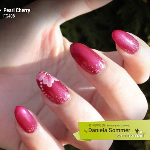 Farbgel Pearl Cherry