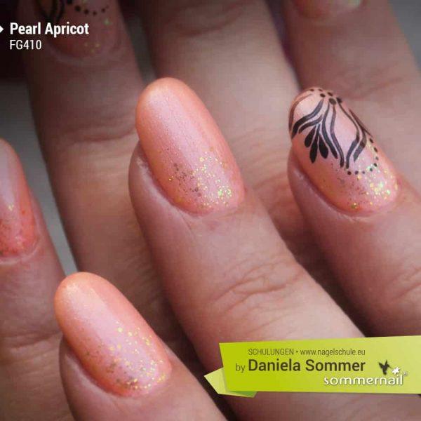 Farbgel Pearl Apricot