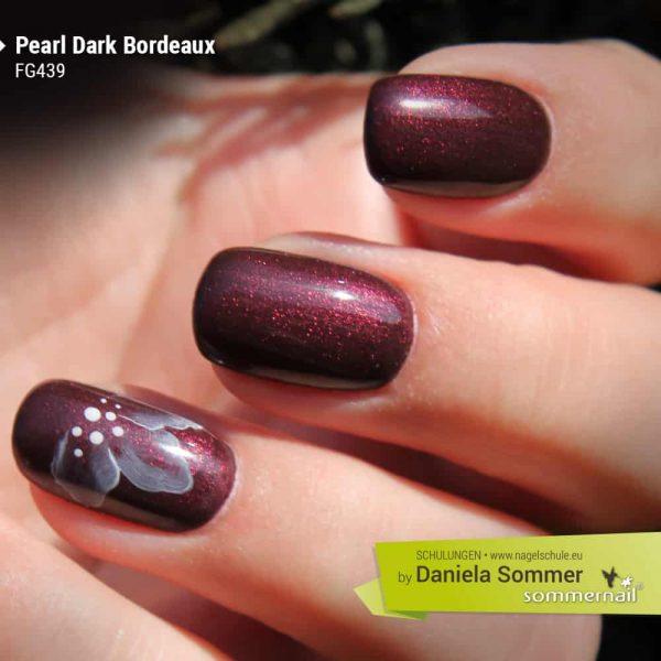 Farbgel Pearl Dark Bordeaux