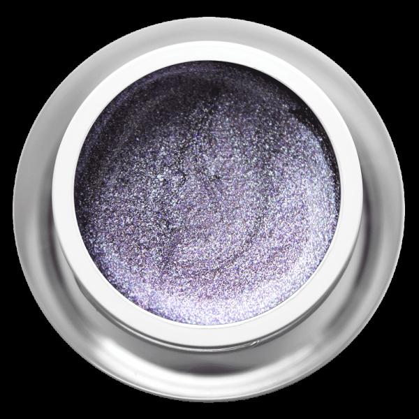 Farbgel Glimmer Lila Steel