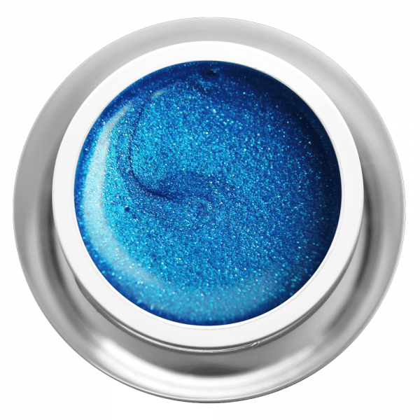 Farbgel Glimmer Azur