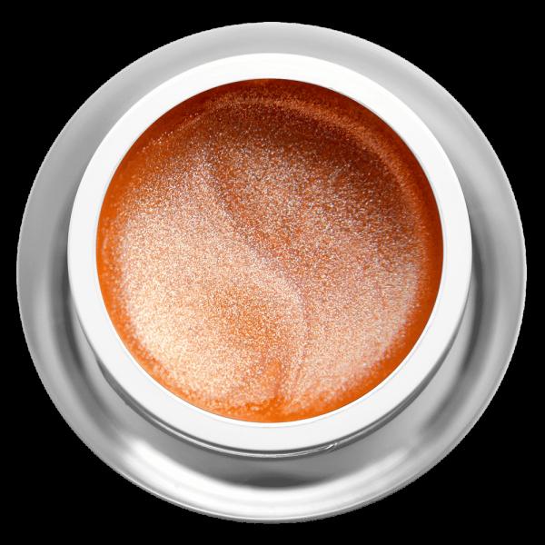 Farbgel Glimmer Apricot