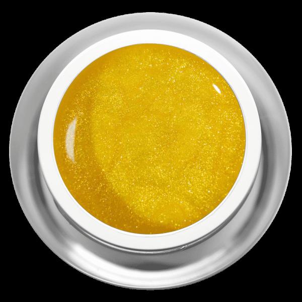 Farbgel Glimmer Gelb