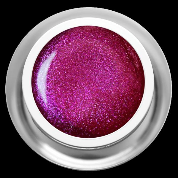 Farbgel Glimmer Magenta
