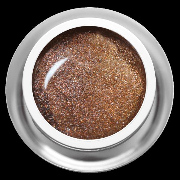 Farbgel Glimmer Brown