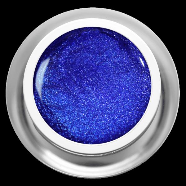 Farbgel Glimmer Blau