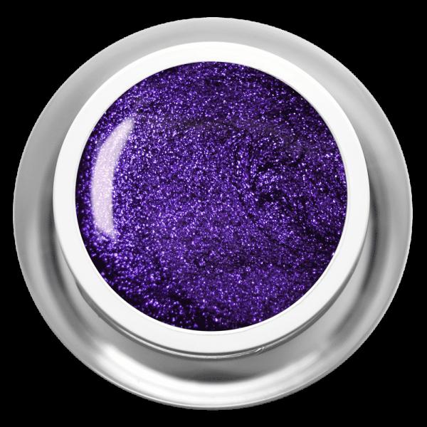 Farbgel Glimmer Lila
