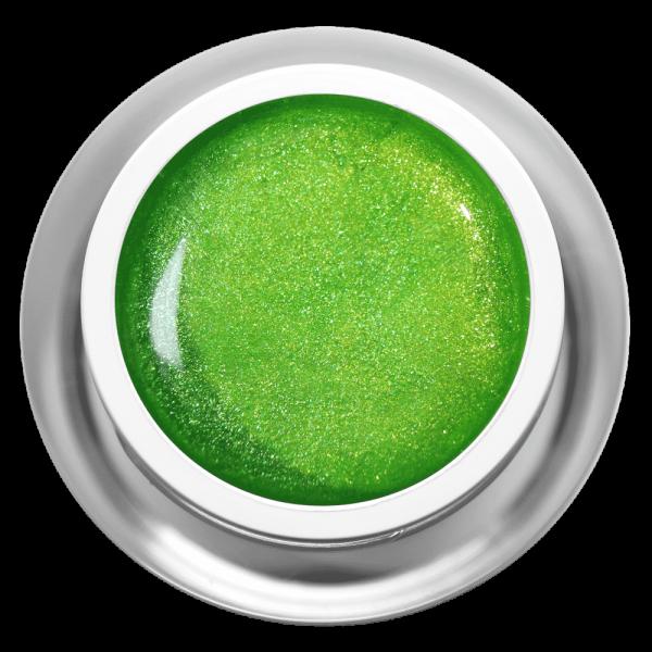 Farbgel Glimmer Kiwi