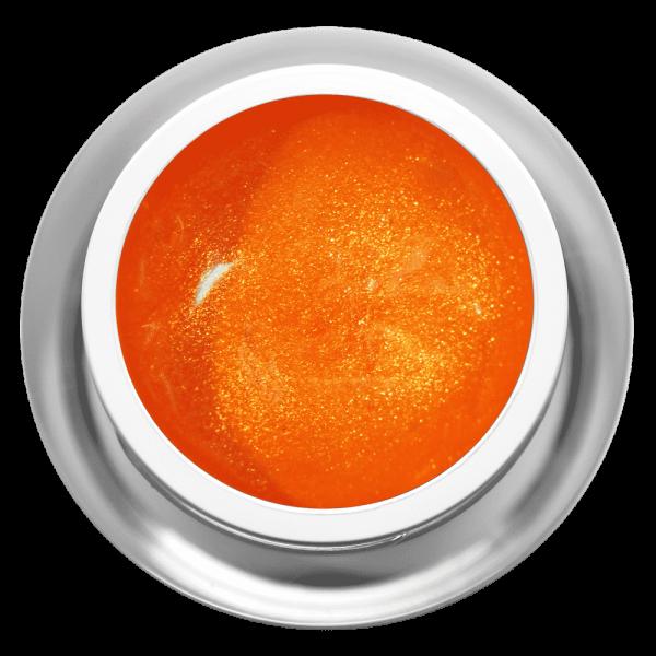 Farbgel Glimmer Orange Dream