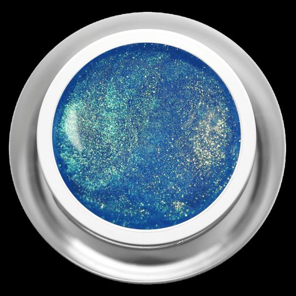 Farbgel Glimmer Mystic Blue