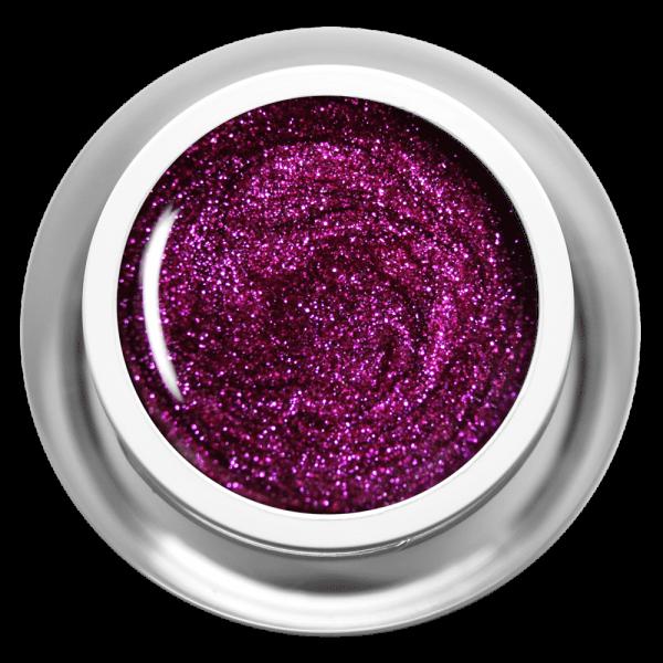 Farbgel Glitter Fuchsia