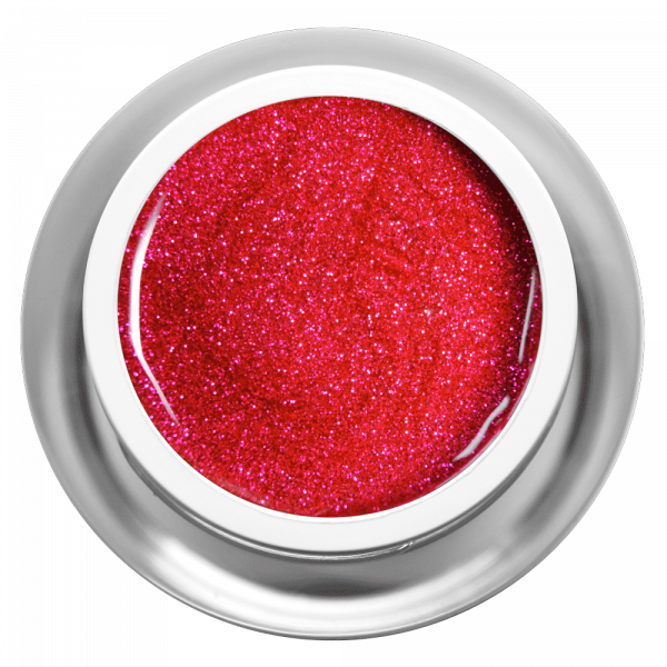 Farbgel Glitter Funky Pink
