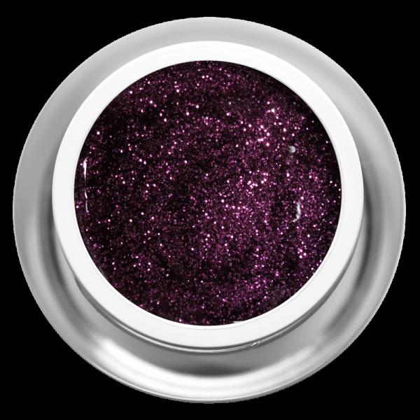 Farbgel Glitter Lila Star