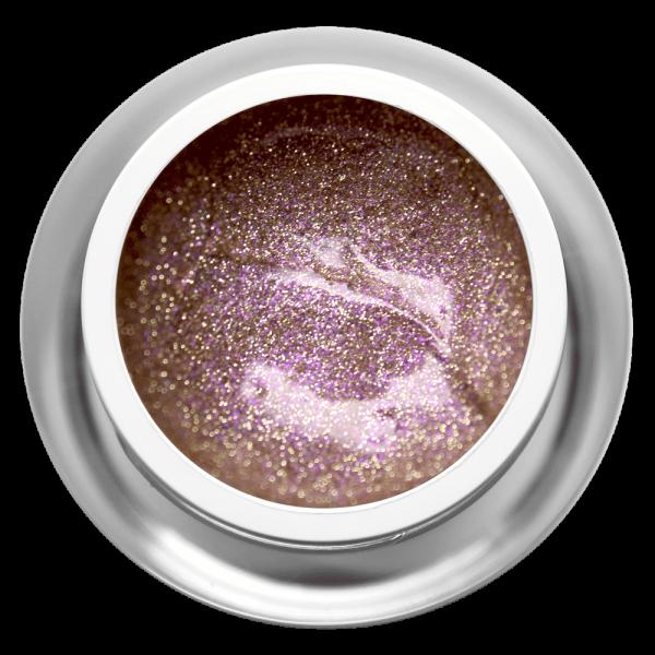 Farbgel Glitter Gold Rose