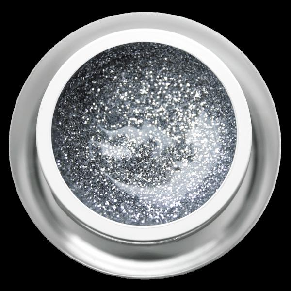 Farbgel Glitter Silverstar